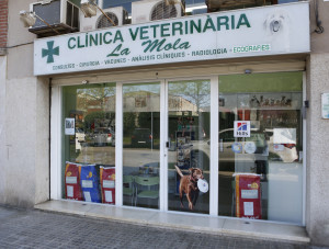 Vista exterior centre veterinari