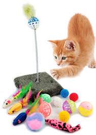 Resultado de imagen de juguetes para gatos